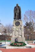 Monument to Admiral Kolchak in Irkutsk — Stock Photo
