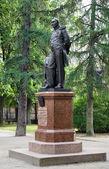 Monument to the Fabian Gottlieb von Bellingshausen in Kronstadt — Stock Photo