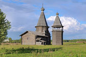 St. John Chrysostom church in Saunino village, Russia — Stock fotografie
