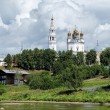 Trinity cathedral in Verkhoturye, Russia — Stock Photo #47794875