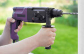 Rotary hammer — Stock Photo
