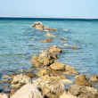 Stones in Ocean — Stock Photo