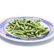 Fresh Raw String beans — Stock Photo