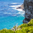 Stock Photo: Nature landscape next to Cape town city, oceanscape with high cl