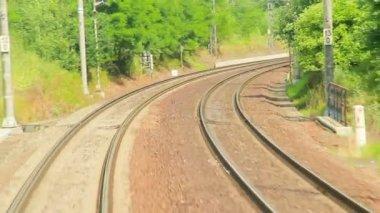 Ferrovia — Video Stock