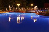 Pool night — Stock Photo