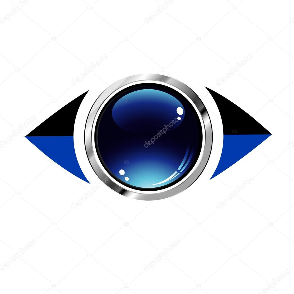 3d eye logo — Stock Vector #18771839