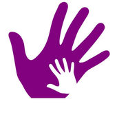 Hands logo — Stock Vector