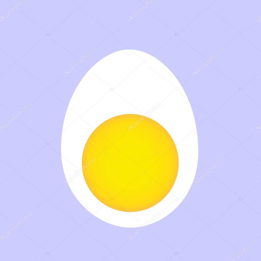Egg Vector Logo Boiled Egg Logo — Vector by