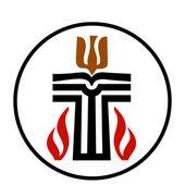 Symbol of Presbyterian religion — Stock Vector
