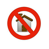 Home error icon — Stock Photo