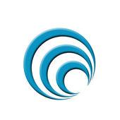 Colorful Company logo — Stock Photo