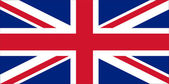 Flag of UK — Stock fotografie