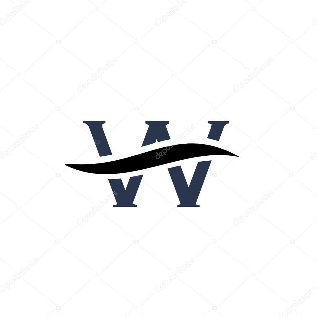 Alphabet logo de...W Letter Design