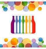 Wine Background — Stock Vector