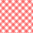 Stock Vector: Gingham background