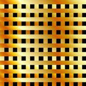 Golden metallic background — Stock Vector