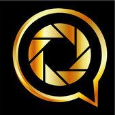 Photography logo — Stock Vector