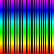 Stock Vector: Colored bar code