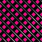 Růžové čtvercové pozadí — Stock vektor