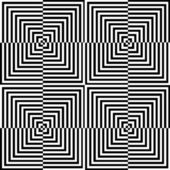 Optical illusion for hypnotherapy — Stock Vector