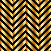 Altın külçeleri ve zig zag hatları ile optik illüzyon — Stok Vektör