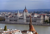 View of the Hungarian Parliament. — Stock Photo
