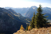 View from the Eagle's Nest, Austria — Stock Photo