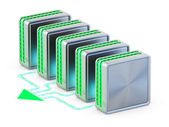 Computer networks. Cloud computing technology. — Stock Photo