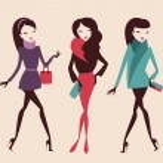 Постер, плакат: Fashion girls