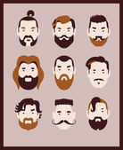 Barber fashion — Vector de stock