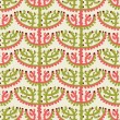 Coral seamless pattern — Stock Vector
