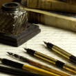 Old writer tools — Stock Photo
