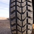 Offroad tire — Stock Photo