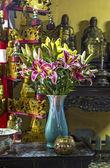 Stilleben i giac lai pagoda - ho chi minh city - vietnam — Stockfoto