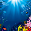 Underwater world — Stock Vector #17438331