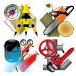 Job occupation icons - Stock Vector