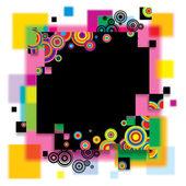 Multicolored banner — Stock Vector