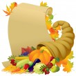 Thanksgiving banner — Stock Vector