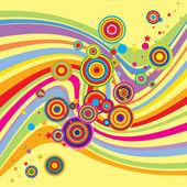 Mehrfarbigen hintergrund — Stockvektor