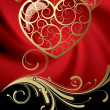 Royalty-Free Stock Imagen vectorial: Card with a hearts