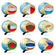 World flag icons — Stock Vector #18890171