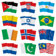 Set of world flags — Stock Vector #24429457