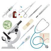 医学的一套 — 图库矢量图片