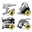 Automobile service icons 2 - Stock Vector