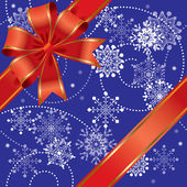 Christmas gift seamless — Stock Vector