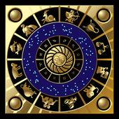 Circle of zodiac — Stock Vector