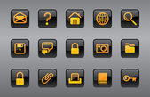 Isolated Website & Internet icons — Vecteur