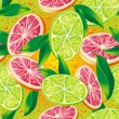 Citrus background — Stock Vector #24785229