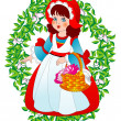 Little Red Riding Hood - Stock Vector